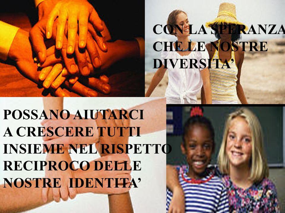 Se uno ha il colore della pelle diverso dal tuo ….. …. NON TI ALLARMARE! Gli appartenenti alle altre razze hanno lacrime trasparenti come le tue. Se u