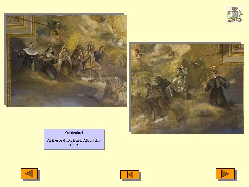 Particolari Affresco di Raffaele Albertella 1939 Particolari Affresco di Raffaele Albertella 1939