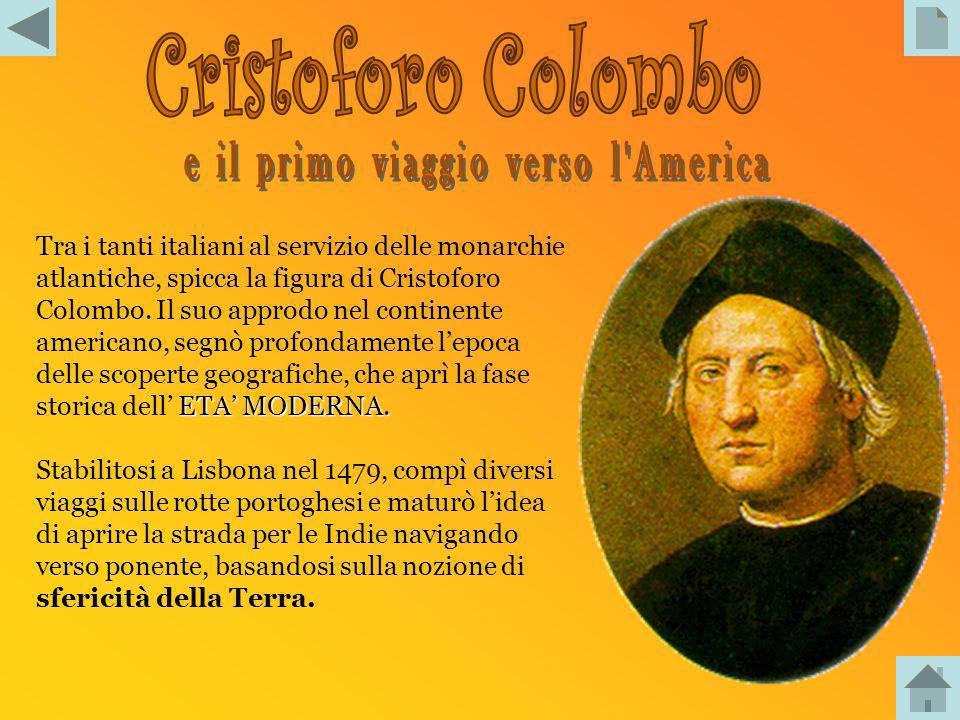 - ColomboColombo - VespucciVespucci -I ConquistadoresI Conquistadores - Il commercio triangolareIl commercio triangolare - le 13 coloniele 13 colonie