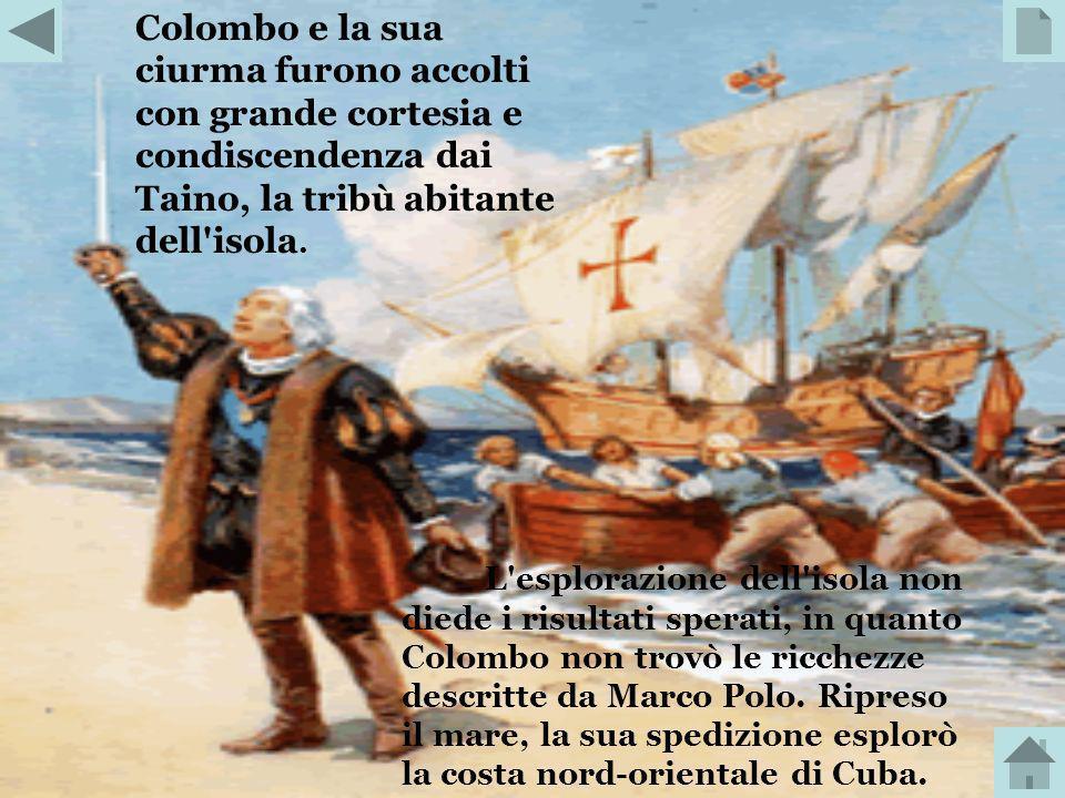 Colombo cercò sostegni in varie corti europee, ma non trovò finanziatori perché limpresa era considerata troppo rischiosa. Solo la regina Isabella di
