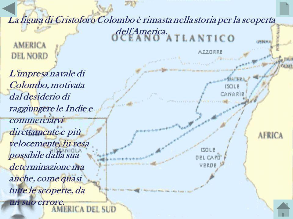 Il 2 gennaio 1493 Colombo riprese la rotta verso l'Europa, ma una tempesta lo costrinse ad attraccare alle Azzorre, sull'isola di Santa Maria, nei pre