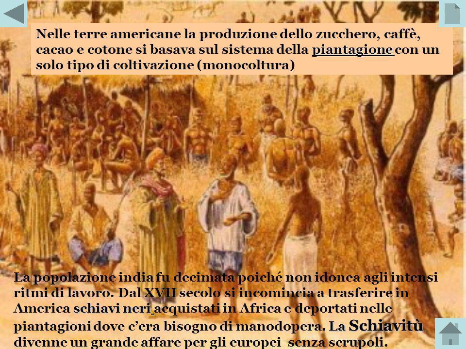 triangolo commerciale Le Compagnie delle Indie Occidentali di Paesi Bassi, Francia e Gran Bretagna inserirono la tratta degli schiavi in un grande tra