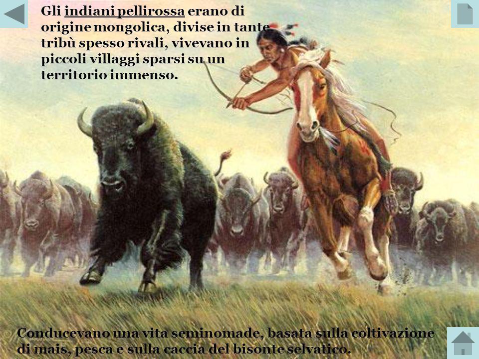 La migrazione verso occidente dei coloni americani, condotta in lunghe carovane di carri coperti, iniziò a fine Settecento e si intensificò quando gli