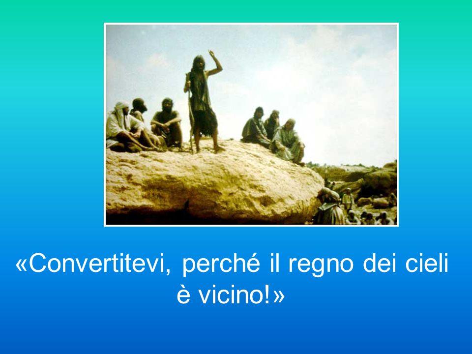 In quei giorni comparve Giovanni il Battista a predicare nel deserto della Giudea, dicendo: