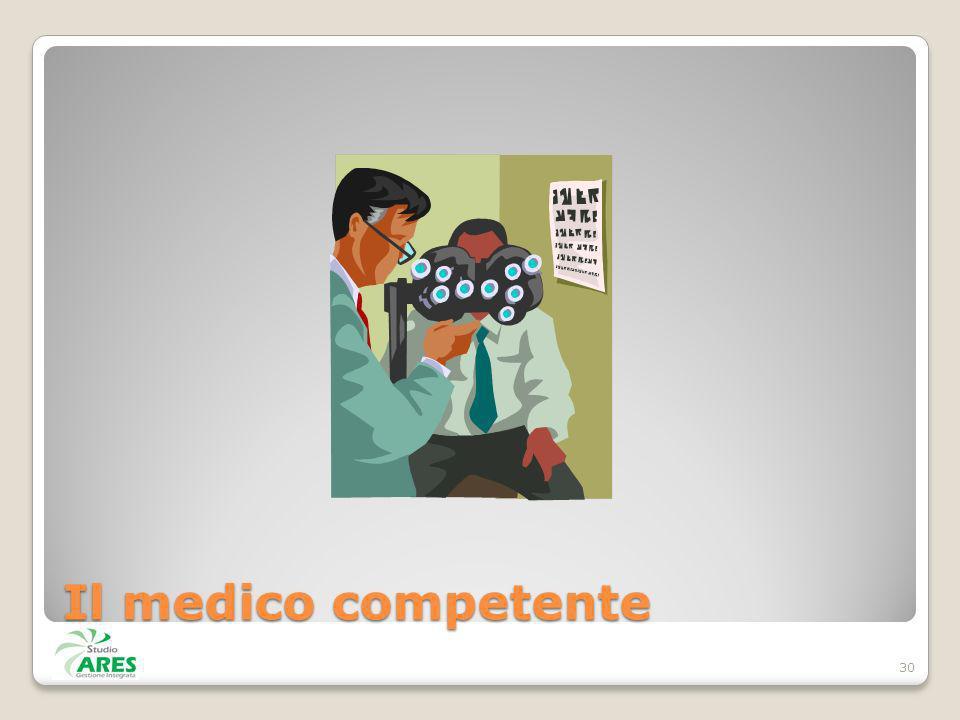 Il medico competente 30