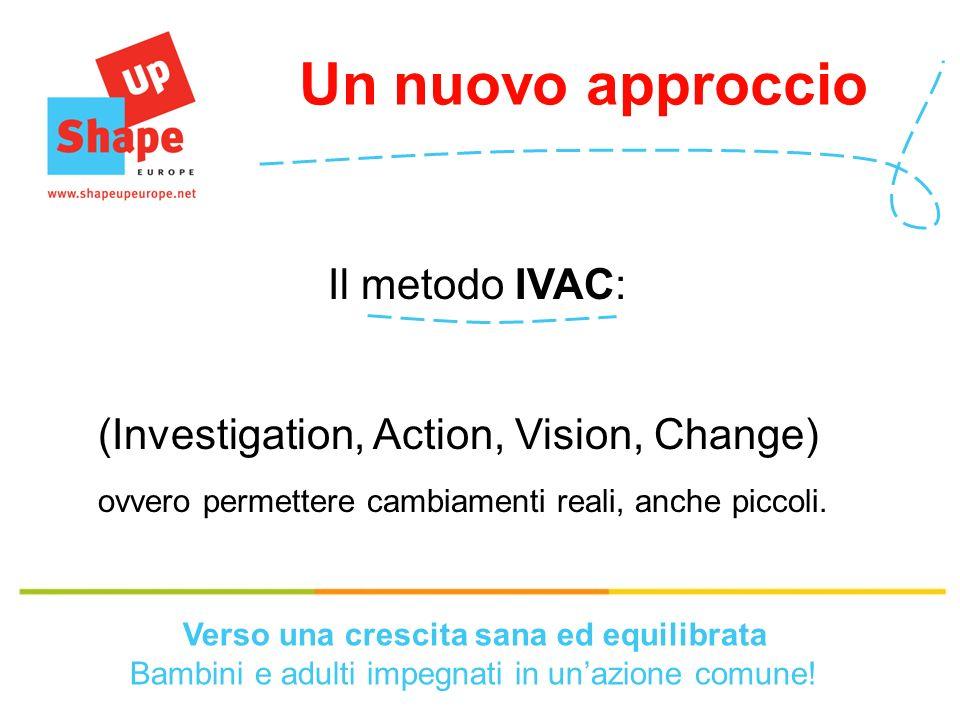 Il metodo IVAC: (Investigation, Action, Vision, Change) ovvero permettere cambiamenti reali, anche piccoli.