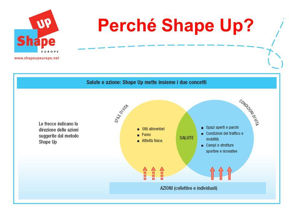 Shape Up mira a valorizzare le competenze e le risorse del territorio e ad adattare il Progetto alle esigenze e alle opportunità locali.