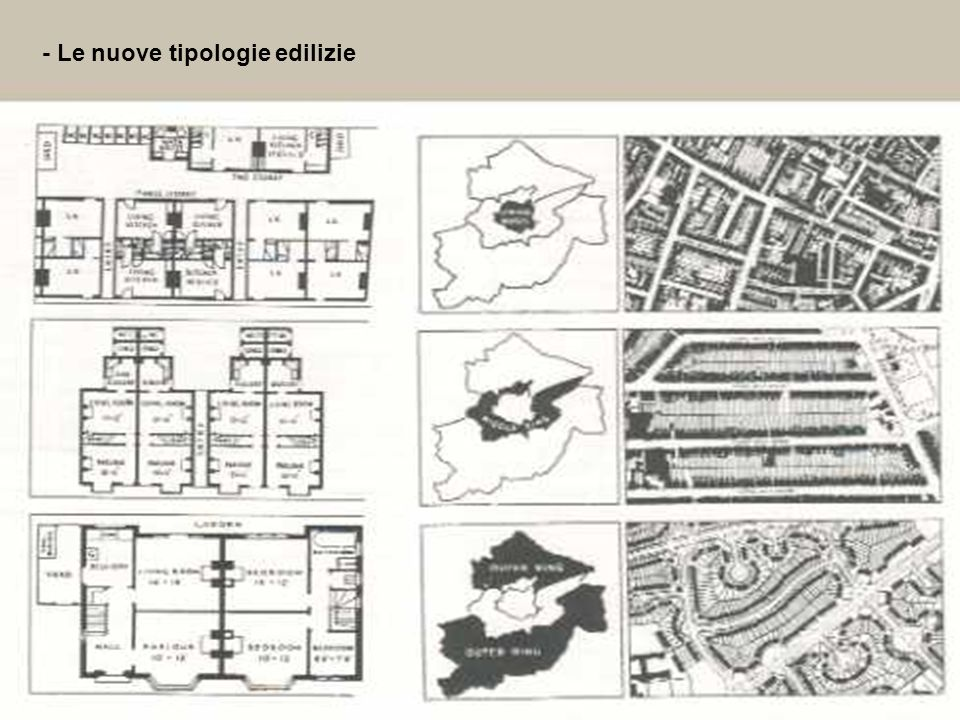 16 - Le nuove tipologie edilizie