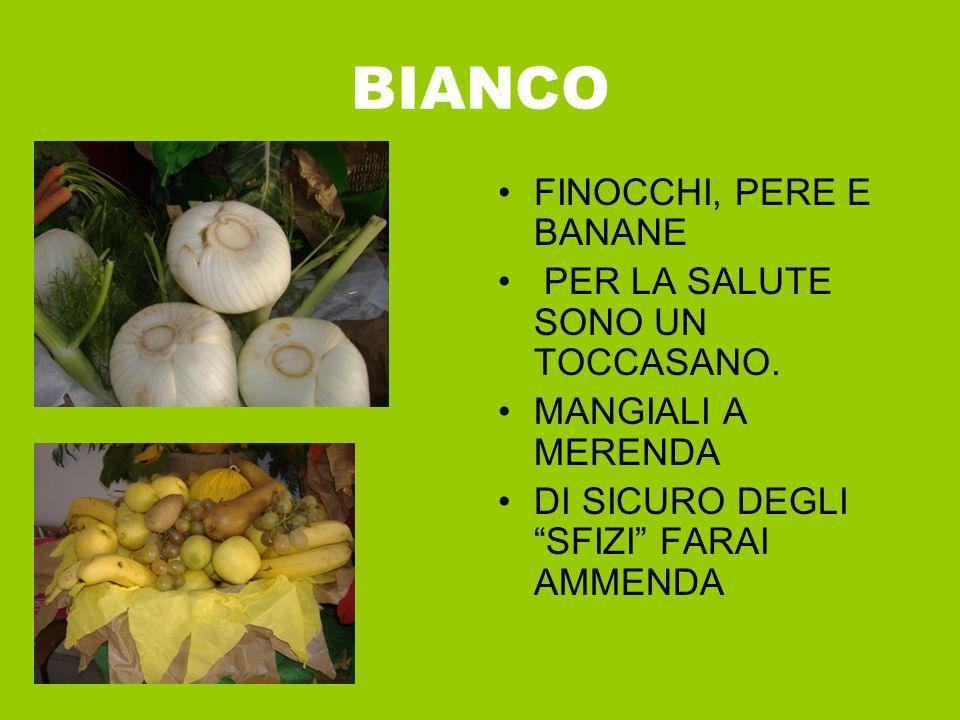 R O SSO Fragole, ciliegie e pomodori sono davvero grandi tesori.