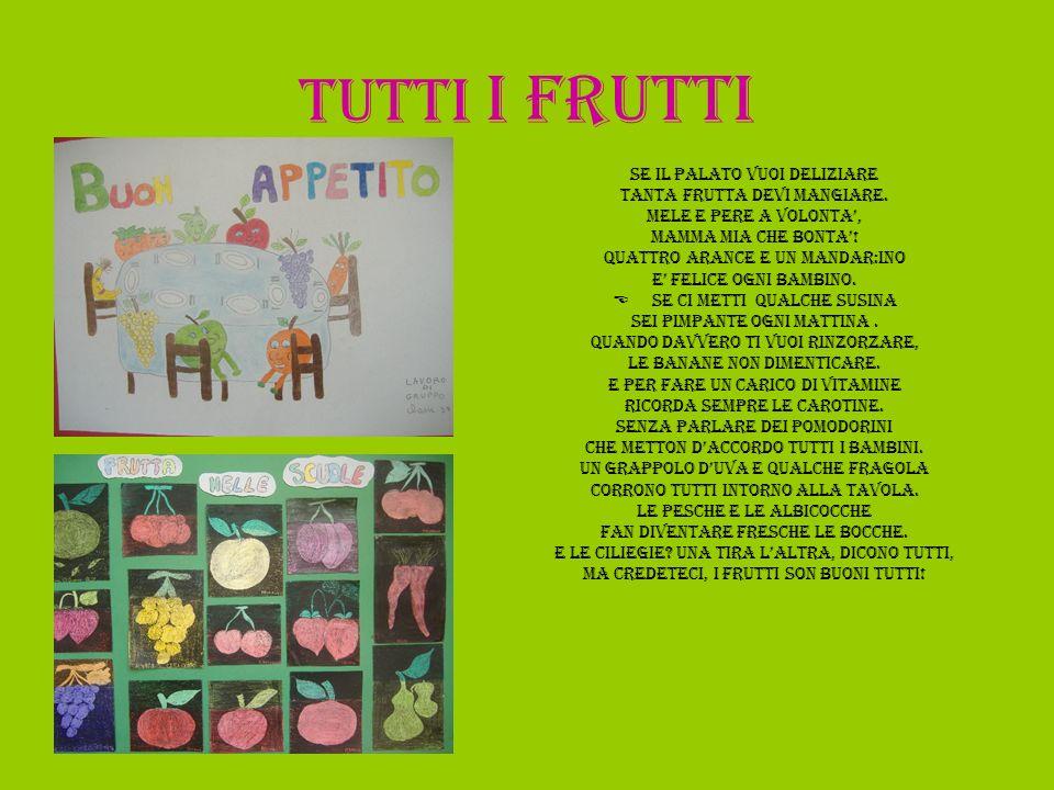 ACROSTICO Frullato Rinfrescante di Uva,mele,pere...susine Tante vitamine per Tutti, Ad ogni età