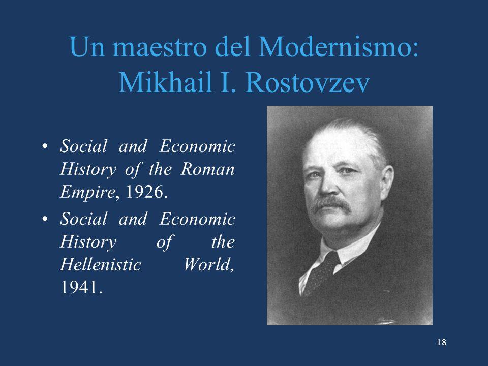 18 Un maestro del Modernismo: Mikhail I.