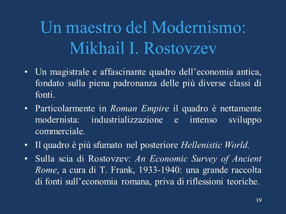 19 Un maestro del Modernismo: Mikhail I.