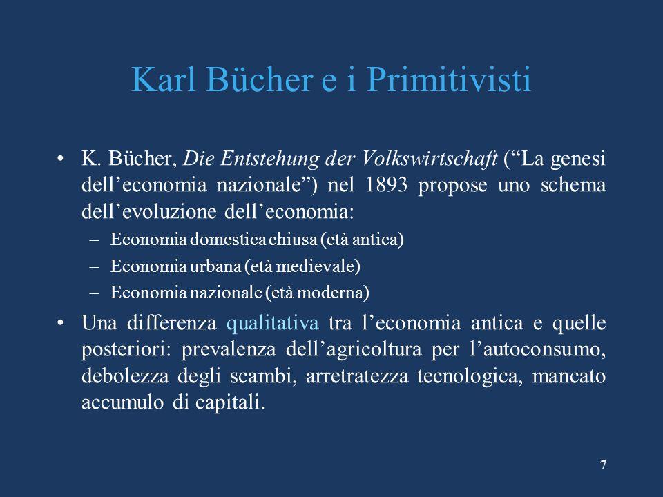 7 Karl Bücher e i Primitivisti K.