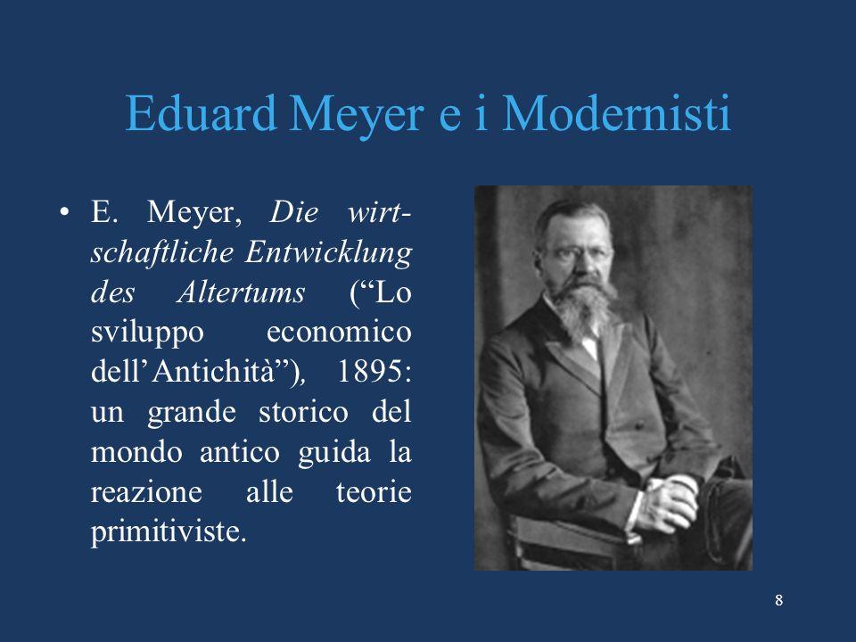8 Eduard Meyer e i Modernisti E.