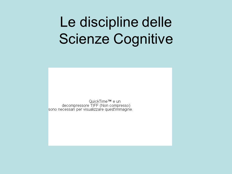 Le discipline delle Scienze Cognitive