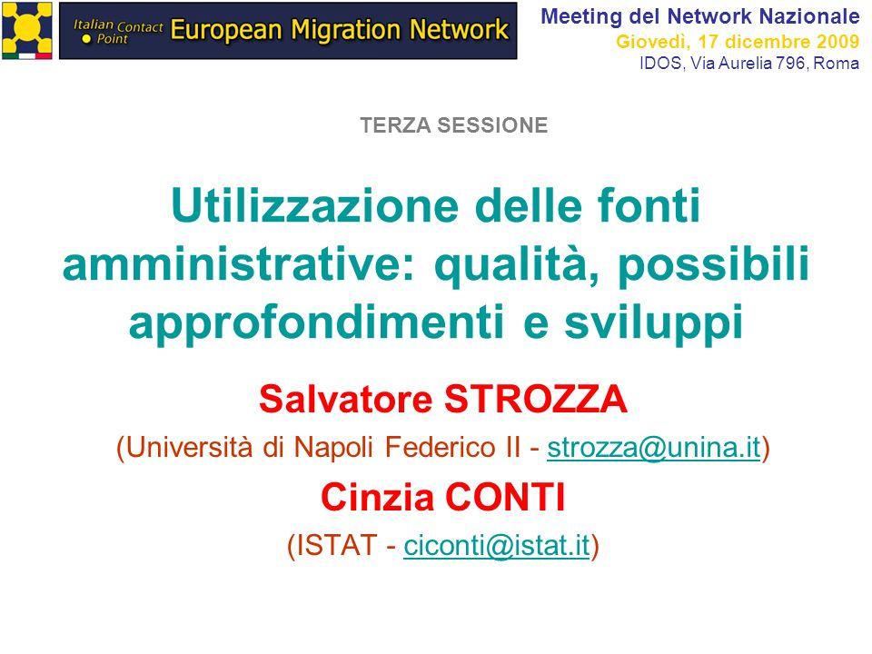 22 3. I cambiamenti nello stato civile Fonte: Istat, 2009