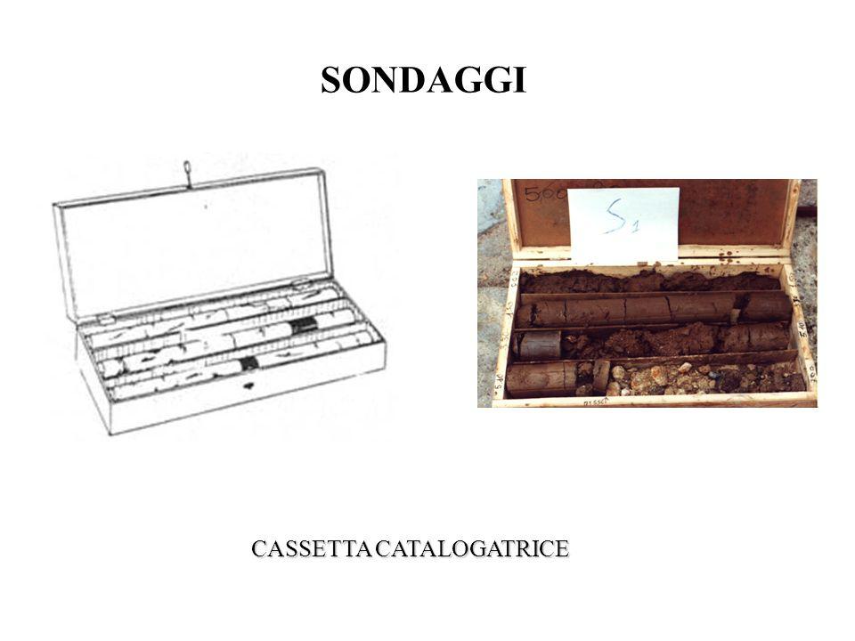 SONDAGGI CASSETTA CATALOGATRICE