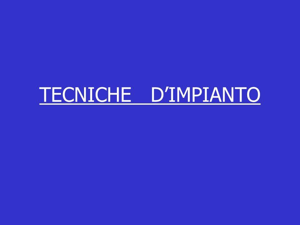 TECNICHE DIMPIANTO
