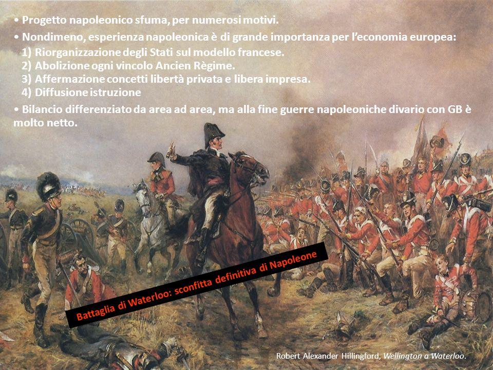 Robert Alexander Hillingford, Wellington a Waterloo. Progetto napoleonico sfuma, per numerosi motivi. Nondimeno, esperienza napoleonica è di grande im