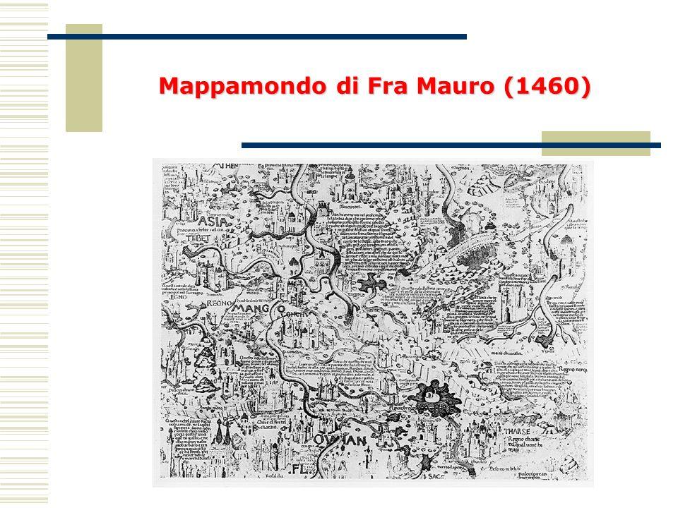 Mappamondo di Fra Mauro (1460)