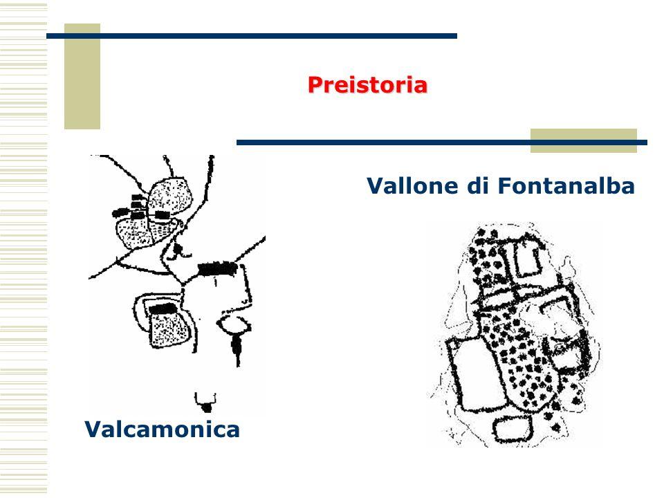 Valcamonica Vallone di Fontanalba Preistoria