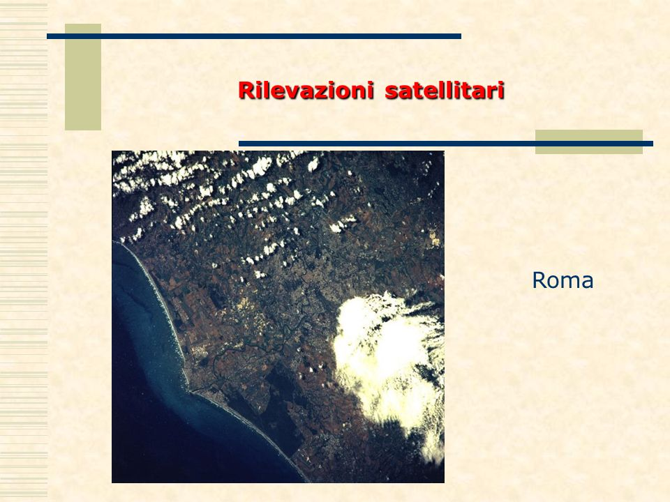 Rilevazionisatellitari Rilevazioni satellitari Roma