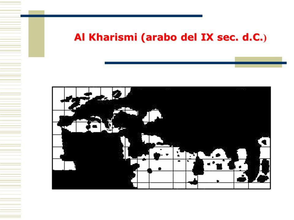 Al Kharismi (arabo del IX sec. d.C. )
