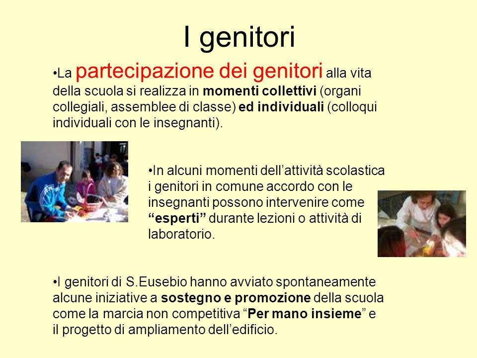 La partecipazione dei genitori alla vita della scuola si realizza in momenti collettivi (organi collegiali, assemblee di classe) ed individuali (collo