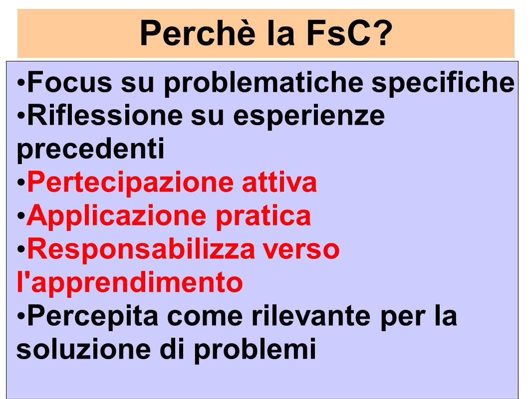 Perchè la FsC.