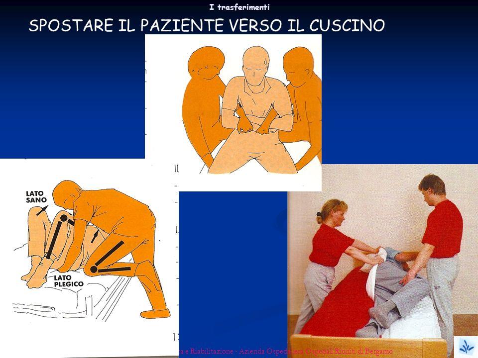 I trasferimenti Micaela Bianco - USC Medicina Fisica e Riabilitazione - Azienda Ospedaliera Ospedali Riuniti di Bergamo SPOSTARE IL PAZIENTE VERSO IL