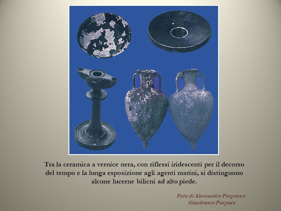 Foto di Alessandro Purpura e Gianfranco Purpura Tra la ceramica a vernice nera, con riflessi iridescenti per il decorso del tempo e la lunga esposizio