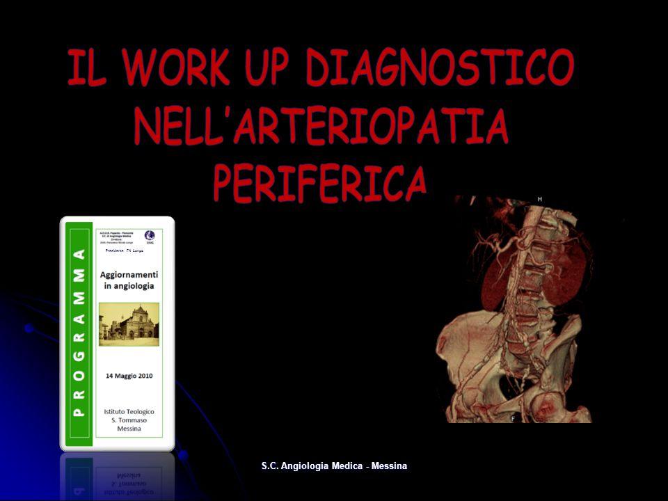 S.C. Angiologia Medica - Messina Presidente FN Longo