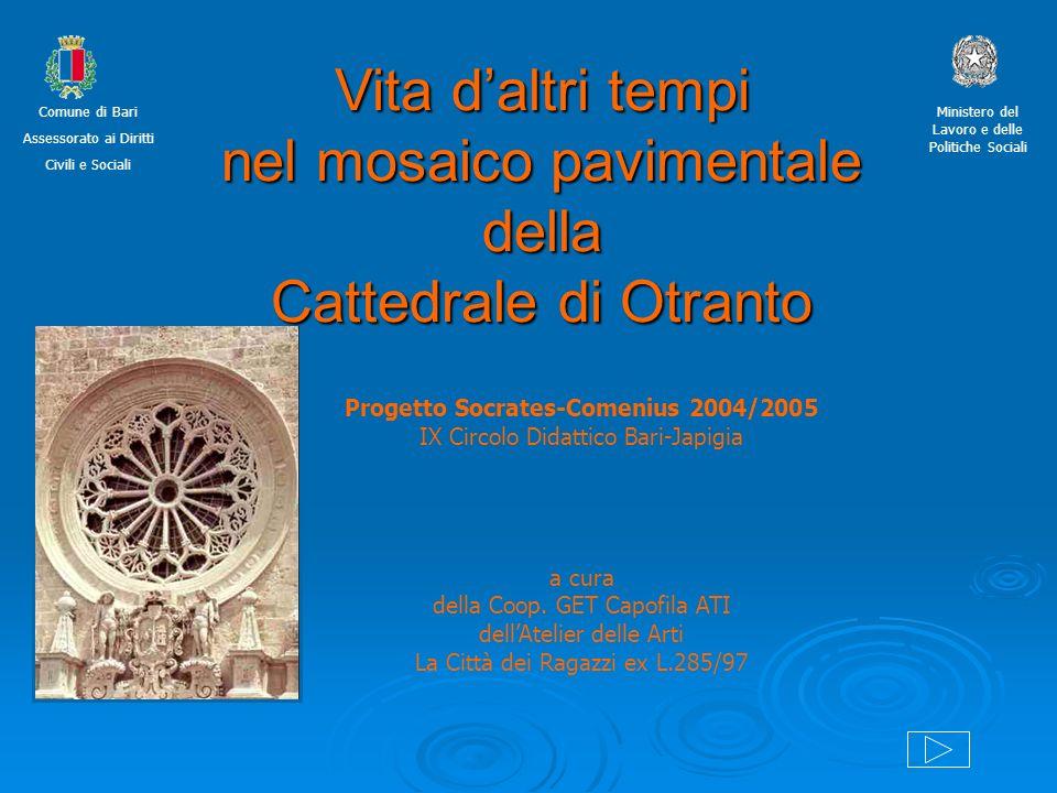 Progetto Socrates-Comenius 2004/2005 IX Circolo Didattico Bari-Japigia a cura della Coop. GET Capofila ATI dellAtelier delle Arti La Città dei Ragazzi