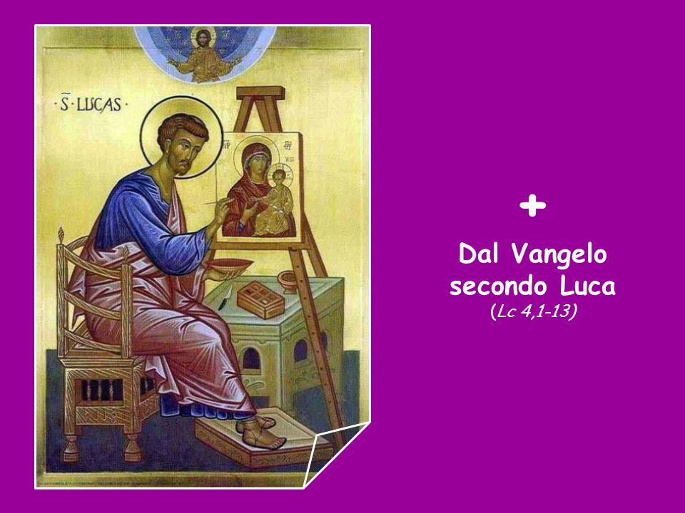 Canto al Vangelo (Mt 4,4) Non di solo pane vivrà luomo, ma di ogni parola che esce dalla bocca di Dio.