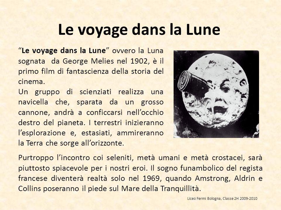Le voyage dans la Lune Purtroppo lincontro coi seleniti, metà umani e metà crostacei, sarà piuttosto spiacevole per i nostri eroi.