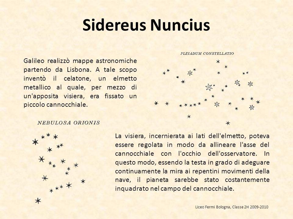 Galileo realizzò mappe astronomiche partendo da Lisbona.