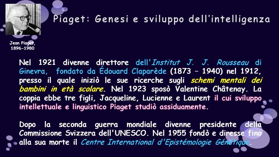 Jean Piaget, 1896-1980