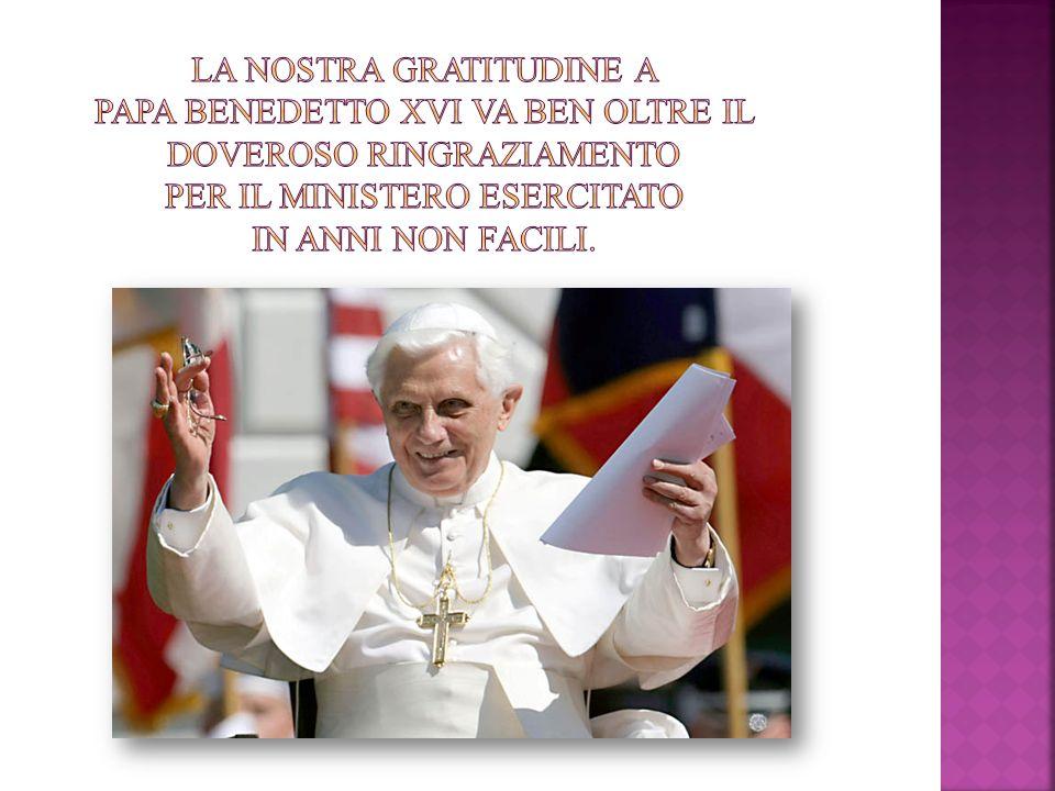 Allinizio dellessere cristiano non cè una decisione etica o una grande idea, bensì lincontro con un avvenimento, con una Persona, che dà alla vita un nuovo orizzonte e con ciò la direzione decisiva Deus caritas est, n.1