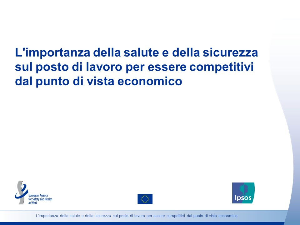 L importanza della salute e della sicurezza sul posto di lavoro per essere competitivi dal punto di vista economico