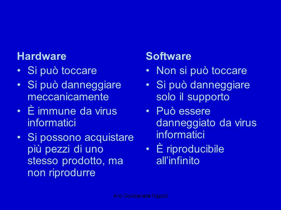 Arci Solidarietà Napoli Sono dispositivi di input Tastiera Mouse Scanner Pad Trackball etc
