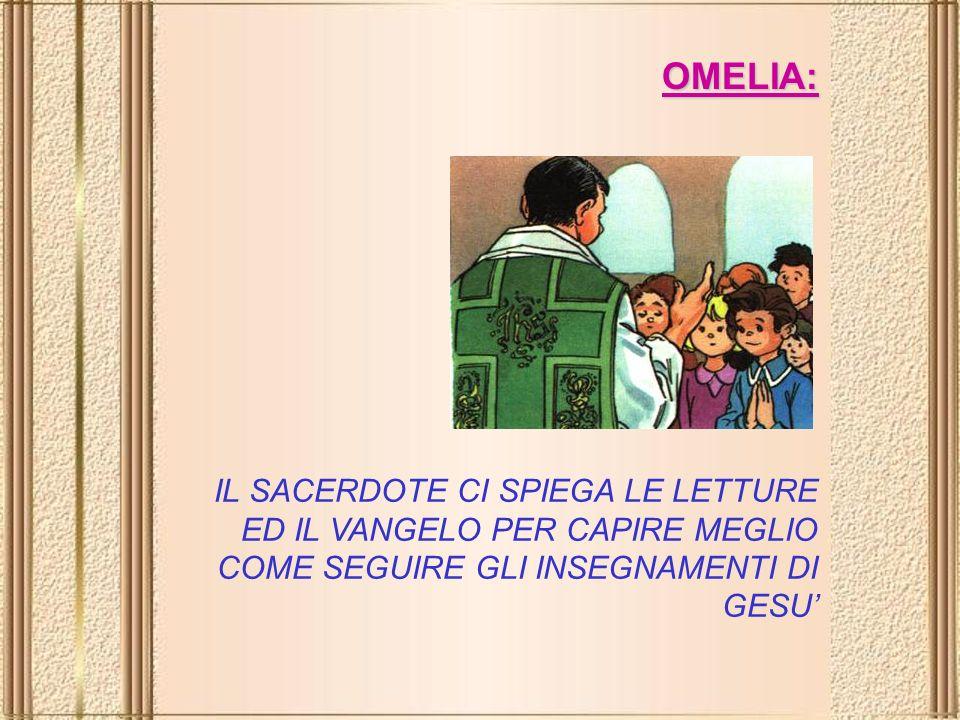 E un brano tratto da uno dei quattro Vangeli (Matteo, Marco, Luca e Giovanni).