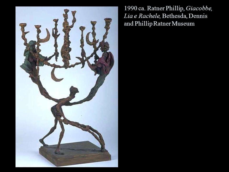 1990 ca. Ratner Phillip, Giacobbe, Lia e Rachele, Bethesda, Dennis and Phillip Ratner Museum