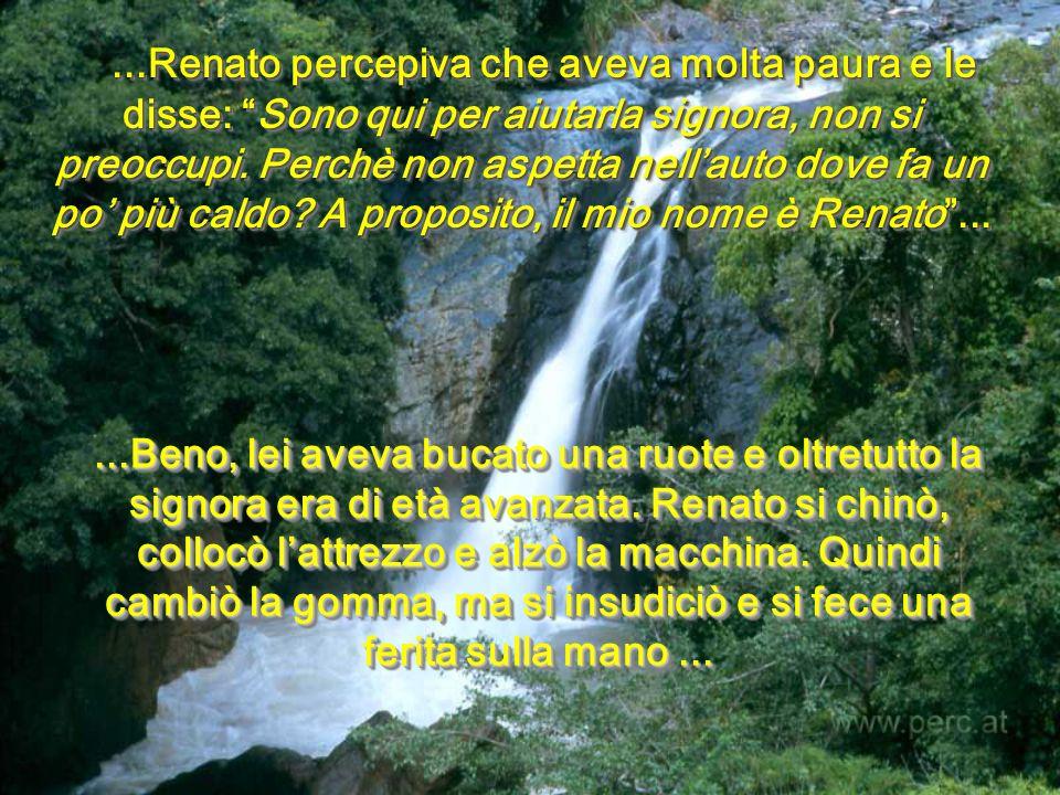 -Andrà tutto bene; ti amo......Renato!