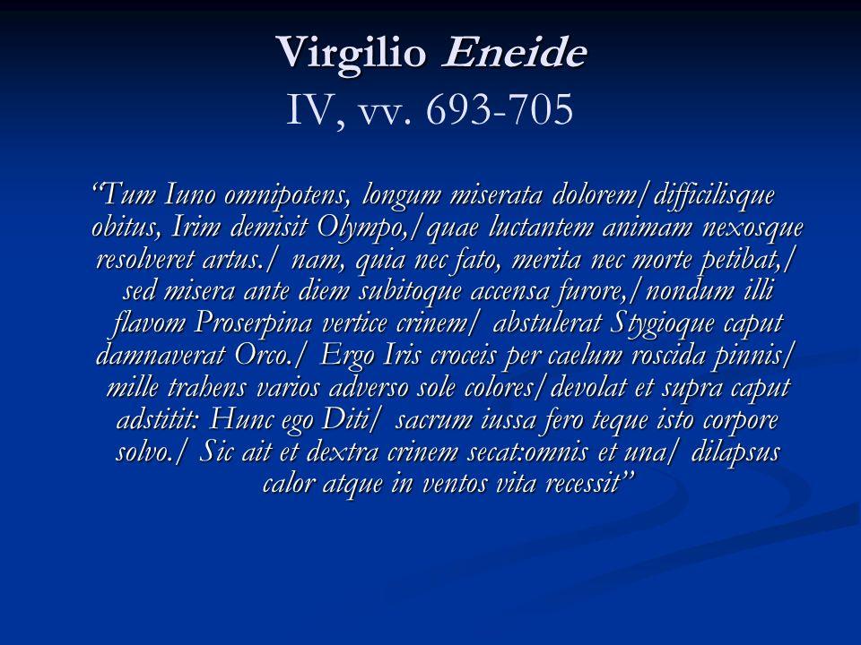 Virgilio Eneide Virgilio Eneide IV, vv.