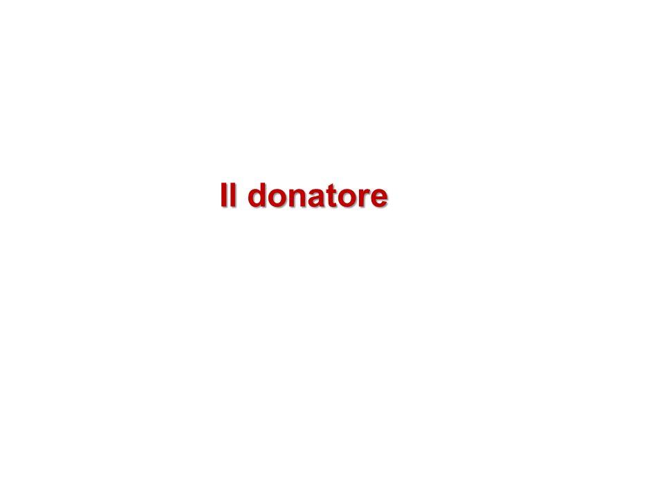 Il donatore