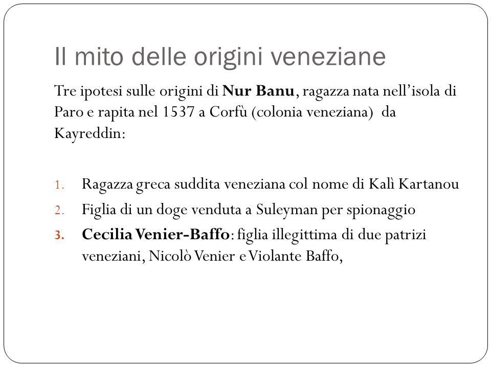 Una sultana veneziana.