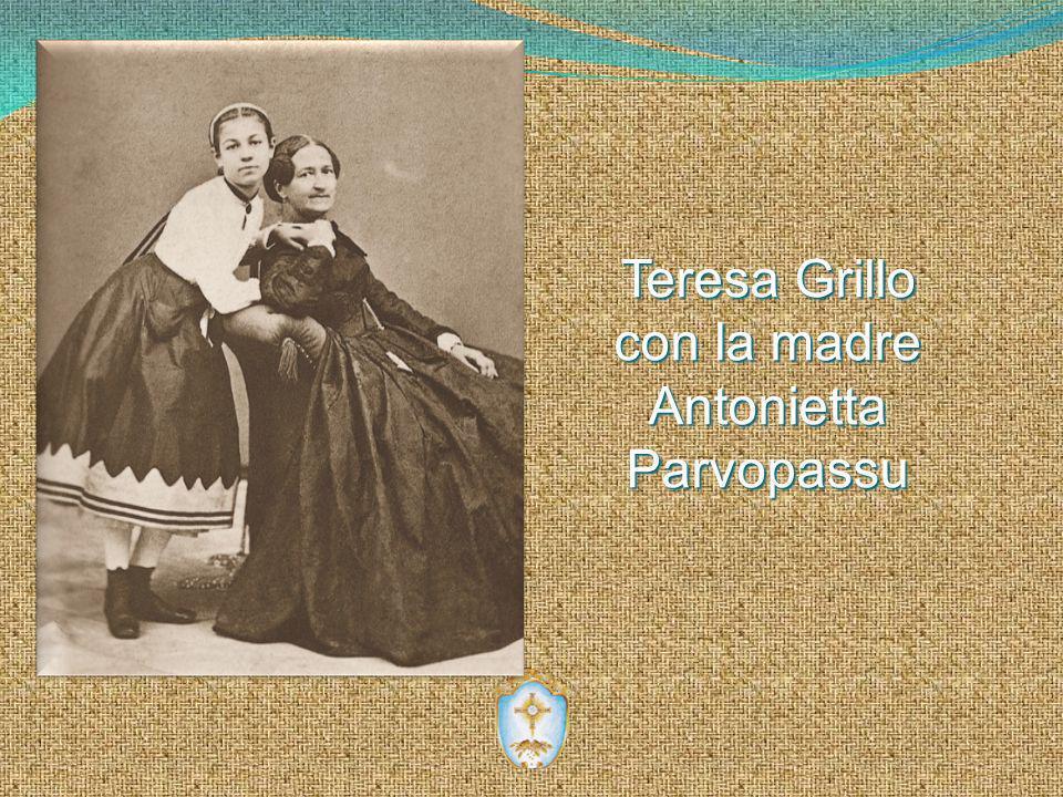 Teresa Grillo con la madre AntoniettaParvopassu