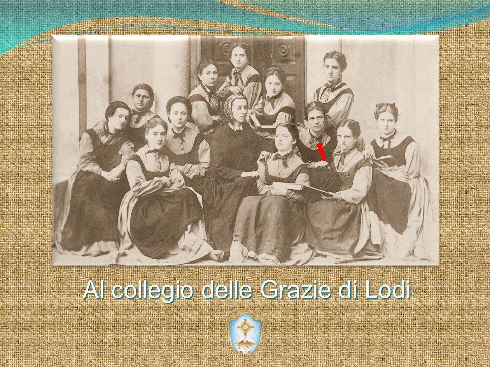 Al collegio delle Grazie di Lodi