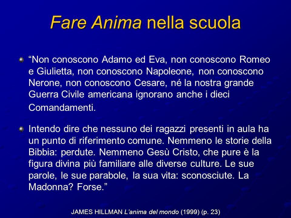 Non conoscono Adamo ed Eva, non conoscono Romeo e Giulietta, non conoscono Napoleone, non conoscono Nerone, non conoscono Cesare, né la nostra grande Guerra Civile americana ignorano anche i dieci Comandamenti.