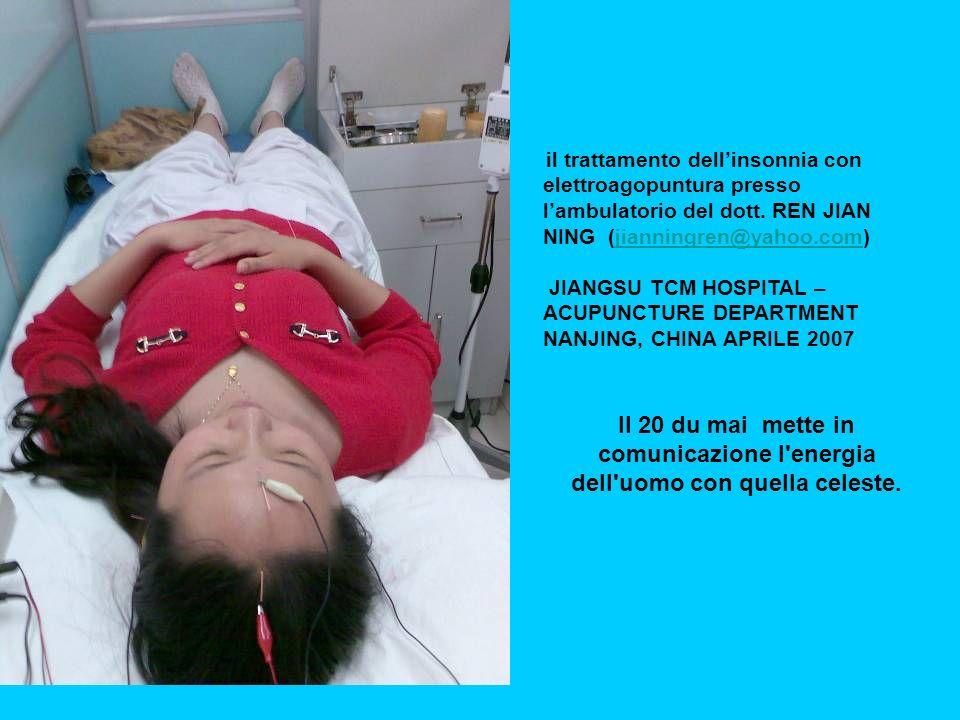 il trattamento dellinsonnia con elettroagopuntura presso lambulatorio del dott.